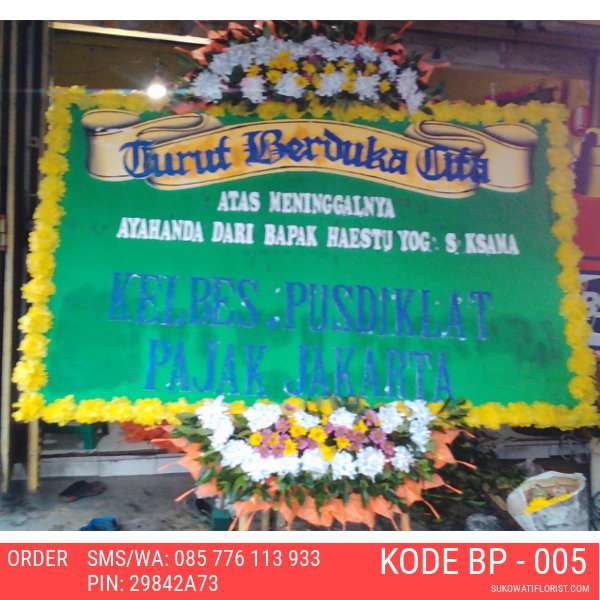 Toko Bunga Online - Karangan Bunga Papan Sragen - SukowatiFloris.com